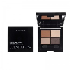 KORRES - Black Volcanic Minerals Eyeshadow Quad The Bare Nudes | 5gr