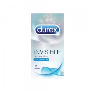 DUREX - Ultimate Invisible Extra Thin-Extra Sensitive | 12 τεμ