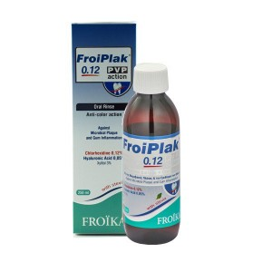FROIKA - Froiplak 0,12 PVP Action Mouth Wash | 250ml
