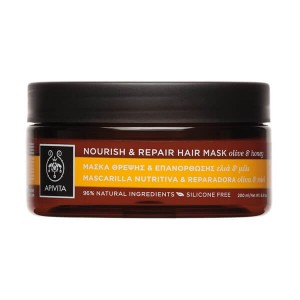 APIVITA - Hair Mask Nourish & Repair με Ελιά & Μέλι | 200ml