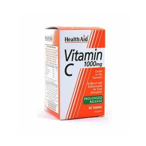 HEALTH AID - Vitamin C 1000mg Prolonged Release | 30tabs