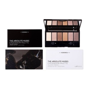 KORRES - Volcanic Minerals Eyeshadow Palette The Absolute Nudes | 6gr