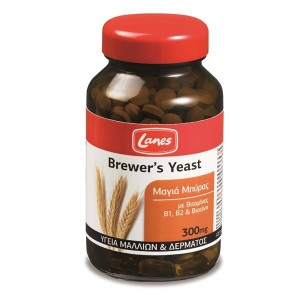 LANES - Brewer's Yeast 300mg | 200 tabs