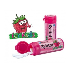 EUROMED - Miradent Xylitol strawberry for kids | 30τμχ